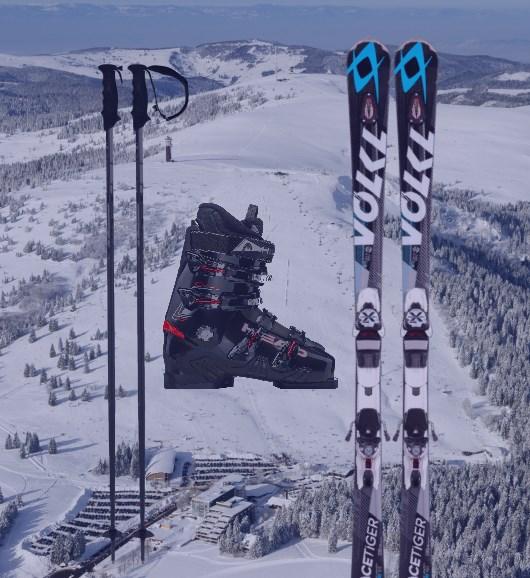 Adult ski set