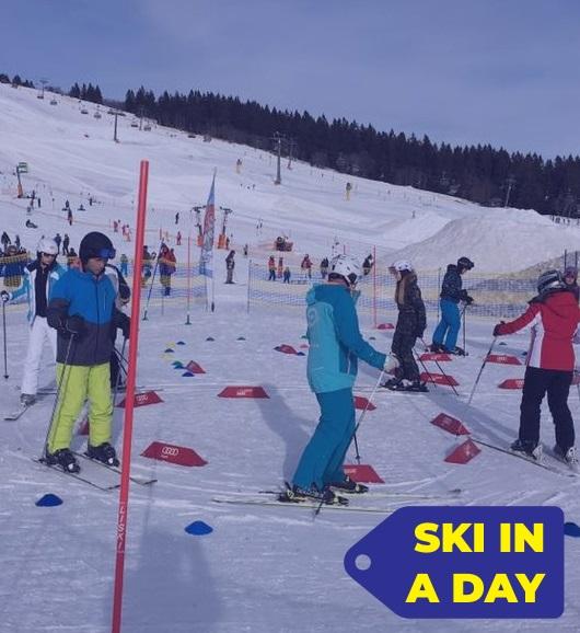 Skikurs(e) SKI IN A DAY Erwachsene