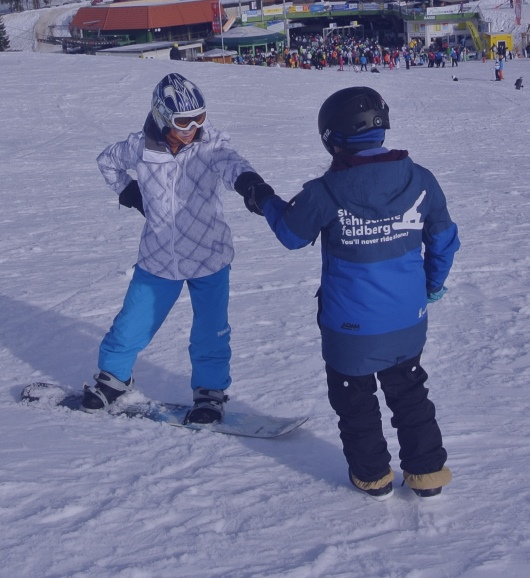 Snowboard lessons private BASIC