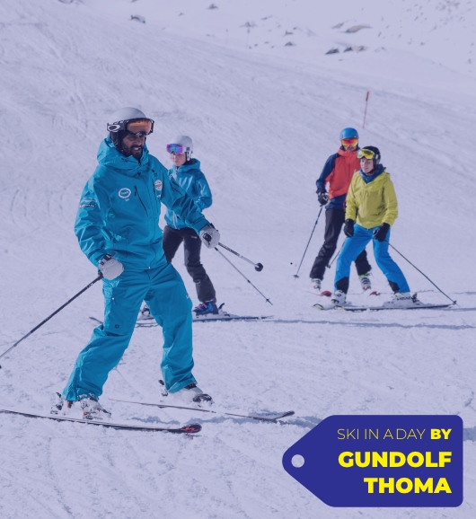 SKI IN A DAY lessons by Gundolf Thoma